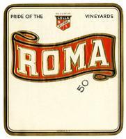 Roma brand, Cella Wine Company, Fresno