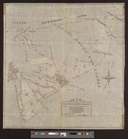 Map of portions of the Rancho Monte del Diablo