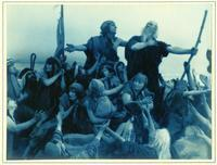 Photographs of the filming of Cecil B. DeMille's The Ten Commandments