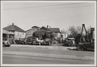 Autowrecking in Pasadena, east side of Raymond Avenue, north of Bellevue Drive