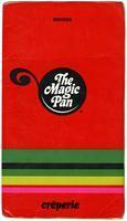 Menu, The Magic Pan crêperie