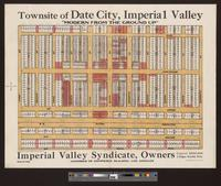 Townsite of Date City, Imperial Valley