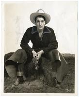 Portrait of star cowboy Roy Randalph