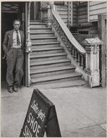 Elks' Shoe Shine Parlor, 1535 1/2 Geary Boulevard, San Francisco