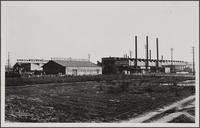 Steel industry on Slauson Avenue, west of Maywood looking from northwest