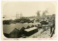 Lumber yards, San Pedro, California
