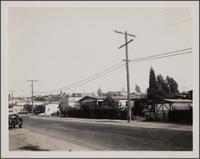 Michigan Avenue and Carmelita looking southeast on Michigan Avenue