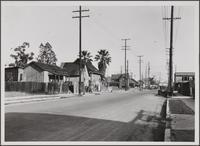 Street in south Los Angeles