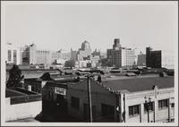 Looking northeast from corner of 11th Street on third floor of Western Auto Supply Co.