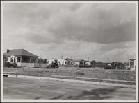 Suburb, looking northwest from Dunham Street, west of Duncan Avenue