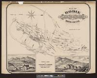 Map of Bodie Mining District, Mono Co., Cal