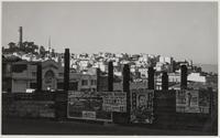 Looking toward Telegraph Hill from Pacific Avenue and Powell Street, San Francisco