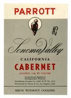 Parrott Sonoma Valley California Cabernet, Montepulciano Wineries, Sonoma