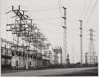 Pacific Gas and Electric, Newark substation, section D of 110 KV Bus, Alameda County, California