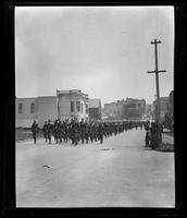 Spanish-American War Expedition leaving for Manila, Van Ness Avenue, San Francisco