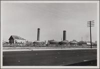 Florence district brick kilns, northwest corner of Slauson and McKinley Avenues