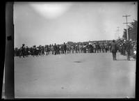 Spanish-American War Expedition leaving for Manila, Van Ness Avenue, San Francisco