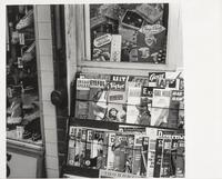 Newsstand, pulp magazines, San Francisco