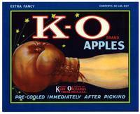 K-O Brand apples, Karr Orchards, Yakima, Wash.