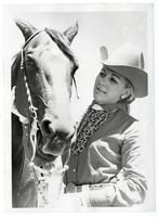 Rodeo queen Evelyn Strong at the Contra Costa County Fair