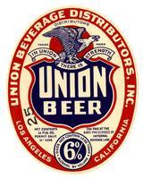 Union Beer, Union Beverage Distributors, Inc., Los Angeles