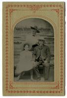 Reginaldo F. del Valle with his wife and daughter Lucretia