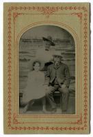 Reginaldo F. del Valle with his wife and daughter Lucretia