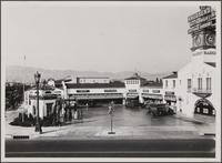 Drive-in market, northeast corner of Wilshire Boulevard and Hamilton Drive