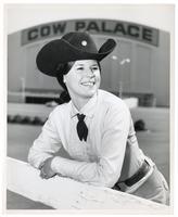 Portrait of cowgirl Patty Burner