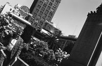 Union Square with Pan Am sign