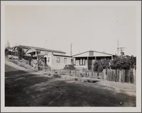Mexican houses on Capistrano Way toward east