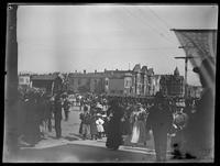 Decoration Day procession, Van Ness Avenue, San Francisco