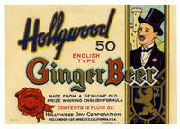 Hollywood ginger beer, Hollywood Dry Corporation, Los Angeles
