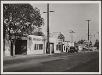 Sunset Boulevard, east of Clark Street, Hollywood