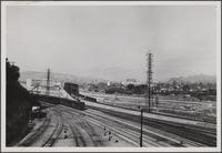 Looking north from North Broadway Bridge, industrial district