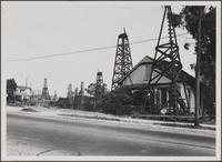 Old oil wells still producing at Adobe Street