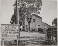 One of earliest houses, H and East 6th Streets, Benicia, Solano County, California