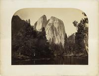 Carleton Watkins mammoth plate photographs of Yosemite Valley and Mariposa Grove