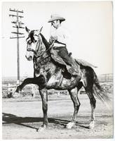 Eliseo Cisco Gomez and his horse