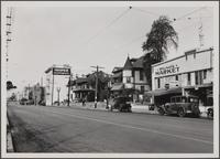Western Los Angeles within old limits, looking west on 9th Street from opposite corner of Garland Avenue