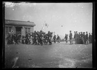 Spanish-American War, California and Oregon volunteer infantries departing to Manila