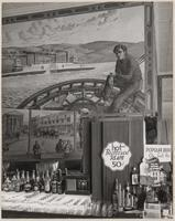 Mural depicting Jack London, Brewery, Benicia, Solano County, California