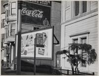 North side of Post Street toward Webster Street, Fillmore District, San Francisco